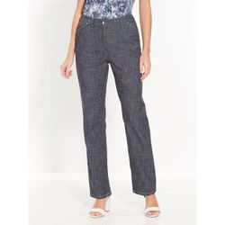 Pantalon En Denim Flamme