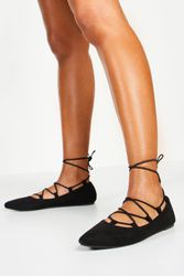 Ballerines ghillies pointues - boohoo - Shopsquare