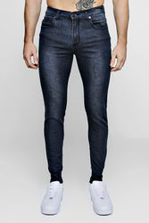 Super Skinny Stretch Jeans anthracite - boohoo - Shopsquare