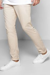Pantalon chino skinny stretch - boohoo - Shopsquare