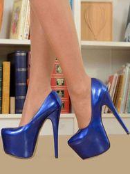 Milanoo Escarpins s à plateforme avec talons hauts sexy Platforme Épais chaussures de Soirée Club - milanoo.com - Modalova