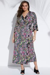 Robe kimono Grande Taille Femme - Ulla Popken - Modalova