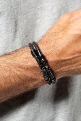 Bracelet en cuir Homme - JP1880 - Modalova
