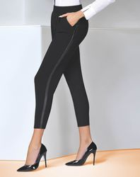 Pantalon Antonina noir - Bas bleu - Modalova