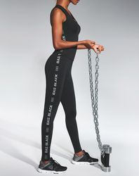 Legging de Sport Emotion noir - Bas bleu - Modalova