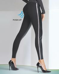 Legging push-up Kimberly noir - Bas bleu - Modalova