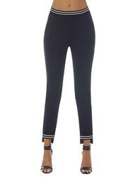 Pantalon Marisa noir/argenté - Bas bleu - Modalova
