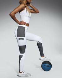 Legging de Sport Passion blanc - Bas bleu - Modalova