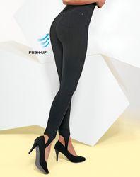 Legging push-up Synthia noir - Bas bleu - Modalova
