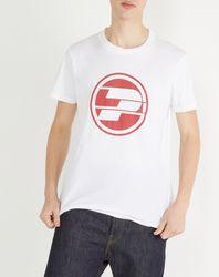 T-Shirt Logo Rond 05M blanc - Pepe Jeans - Modalova