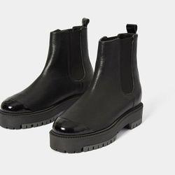 Chelsea Boots en Cuir MisterWu - L37 - Modalova