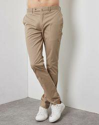 Pantalon Kensington chino sable - Hackett London - Modalova