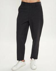 Pantalon en Coton & Laine Fron anthracite - Bellerose - Modalova