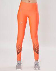 Legging HeatGear® Armor Ombre orange - Under Armour - Modalova