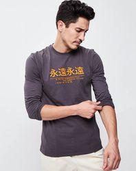T-Shirt Hann gris - John Galliano - Modalova