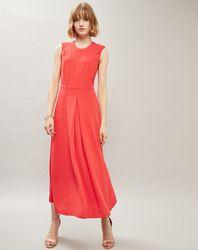 Robe longue Boutons rouge - Calvin Klein - Modalova