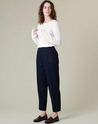 Pantalon en Laine mélangée Evan - Harris Wilson - Modalova