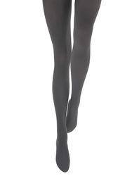 Collants opaques 50 deniers gris - Le Bourget - Modalova