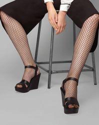 Collants Résille noirs - Le Bourget - Modalova