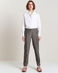 Pantalon de costume Mickey gris - Bellerose - Modalova