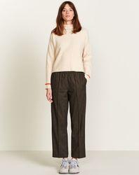 Pantalon Vlad droit et large marron - Bellerose - Modalova