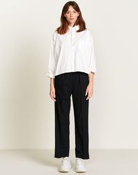 Pantalon Vlad droit et large noir - Bellerose - Modalova