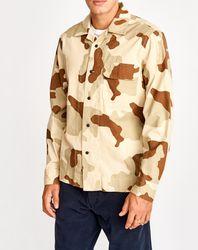 Surchemise Geko camouflage beige/marron - Bellerose - Modalova