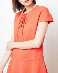 Robe Lacet orange - Cacharel - Modalova