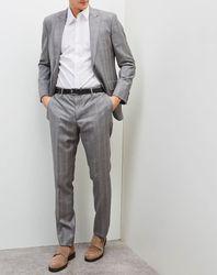 Costume 100% Laine gris clair - Hackett London - Modalova