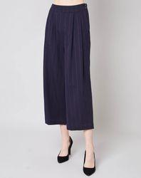 Pantalon Vanel rayé marine - Bellerose - Modalova