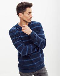 Pull Daren rayé bleu - Pepe Jeans - Modalova