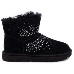 Boots fourrées en Velours de Cuir Galaxy Bling Mini - Ugg - Modalova