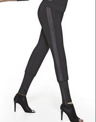 Pantalon Sport Athena noir/gris - Bas bleu - Modalova