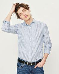 Chemise ajustée Andrewi à motifs - Pepe Jeans - Modalova