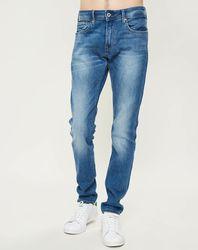 Jean droit Stanley Medium Used bleu - Pepe Jeans - Modalova