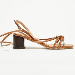 Sandales en Cuir Irina marron - Talon 6 cm - Apologie - Modalova