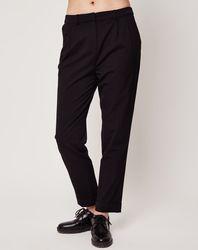 Pantalon de tailleur noir - Esprit - Modalova