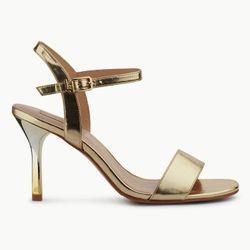 Sandales en Cuir Brenda dorées - Talon 9 cm - Liu-Jo - Modalova