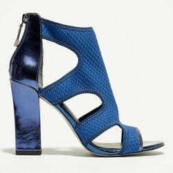 Sandales Blum bleu marine - Talon 10 cm - What For - Modalova