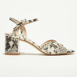 Sandales en Cuir Anne python - Talon 7 cm - What For - Modalova