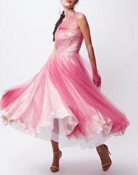 Robe de Bal rose - John Galliano - Modalova