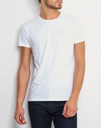 T-Shirt Original Basic S/S blanc - Pepe Jeans - Modalova
