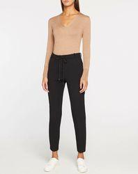 Pantalon ajusté noir - Esprit - Modalova
