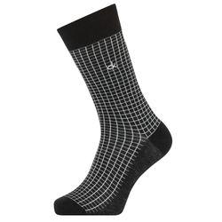 Chaussettes Quadrillage noires - Calvin Klein - Modalova