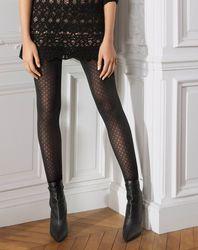 Collants semi opaque à losange 30 deniers - Le Bourget - Modalova