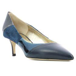 Escarpins en Cuir d'Agneau Thiya bleus - Talon 5.5 cm - Charles jourdan - Modalova