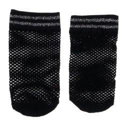 Socquettes résille sport noires - Le Bourget - Modalova