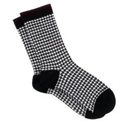 Chaussettes Calissa motif pied-de-poule - Le Bourget - Modalova