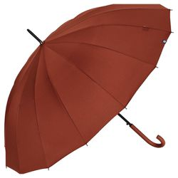 Parapluie long - Poignée courbée - Bisetti - Modalova