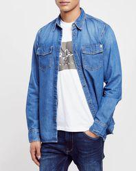 Chemise droite en jean Archive - Pepe Jeans - Modalova